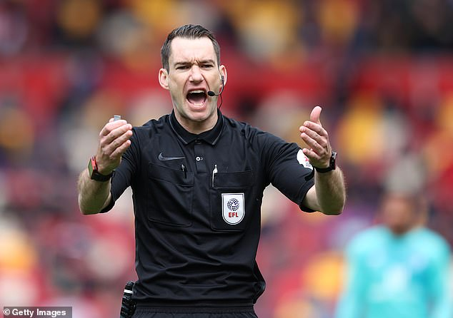 Australian Jarred Gillett is among five EFL referees being interviewed for promotion