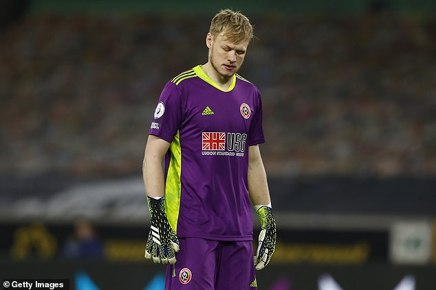 Burnley 'could make a move for Sheffield United goalkeeper Aaron Ramsdale' if they sell Nick Pope over the summer