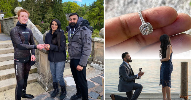 Vik and Rebecca managed to get the ring back