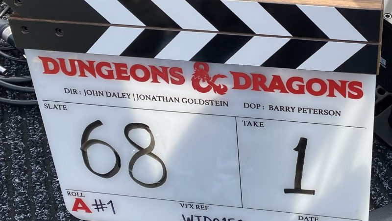 Dungeons & Dragons filming