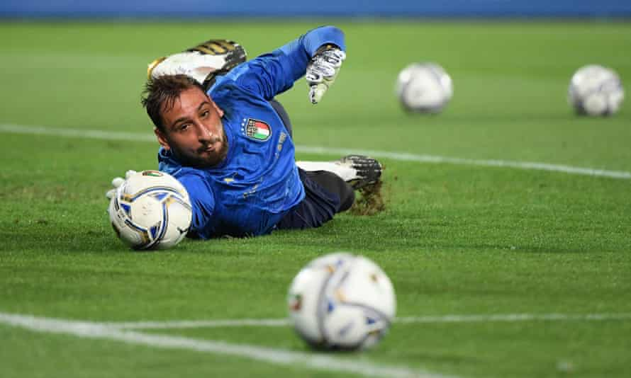 Italy's No 1 goalkeeper Gigio Donnarumma is looking for a new club this summer after contract issues at Milan.