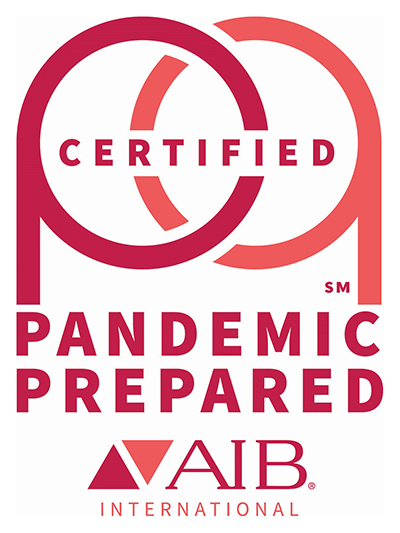 AIB's Pandemic Prepared Certification logo