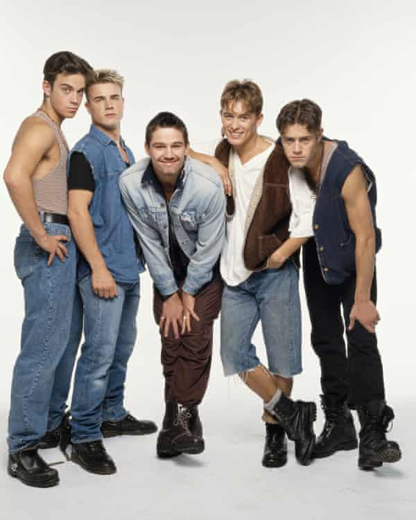 Take That in 1992, the year they played the Assembly Rooms.