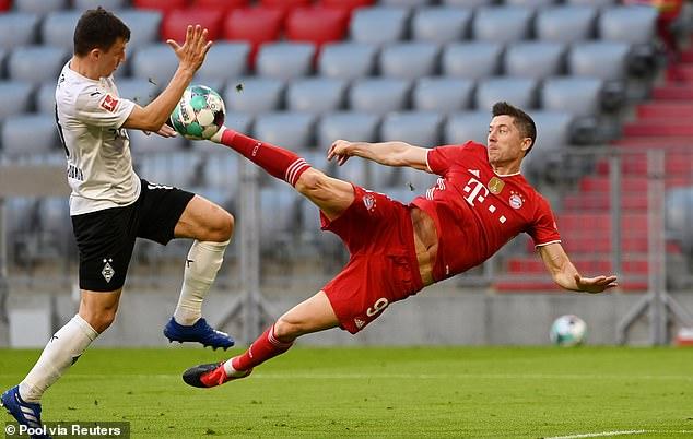 Barcelona and Chelsea are on alert over Bayern Munich striker Robert Lewandowski