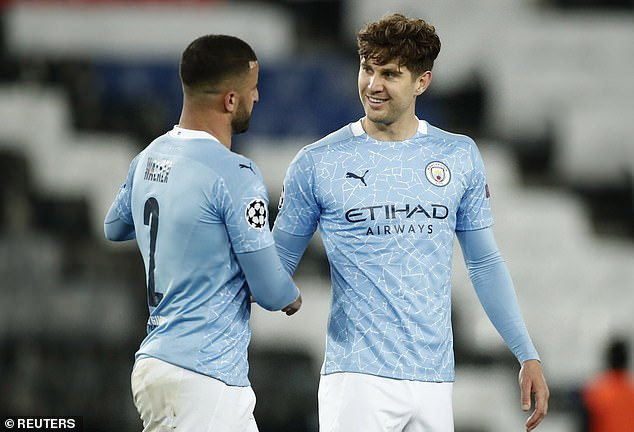 John Stones backs he and his Manchester City team-mates to get the job done against PSG