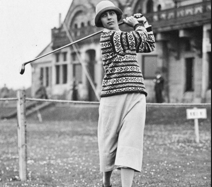 """Glenna Collett Vare The greatest female American amateur golfer, Vare was often called """"the female Bobby Jones"""" in her day. A great driver and a great sportsman, in 1924 she won 59 of 60 matches..."""