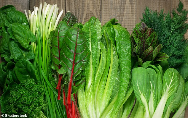 The newresearch found that by eating just one cup of nitrate-rich vegetables each day people can reduce their risk of heart disease