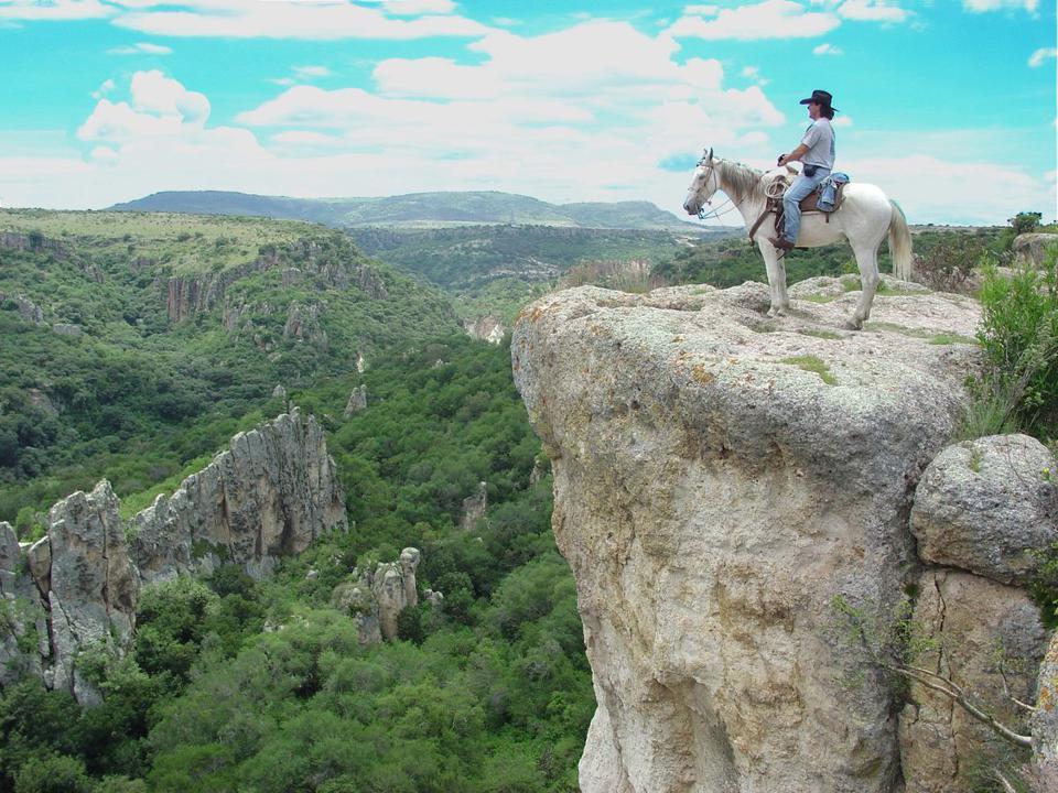 horseback in SMA, Mexico