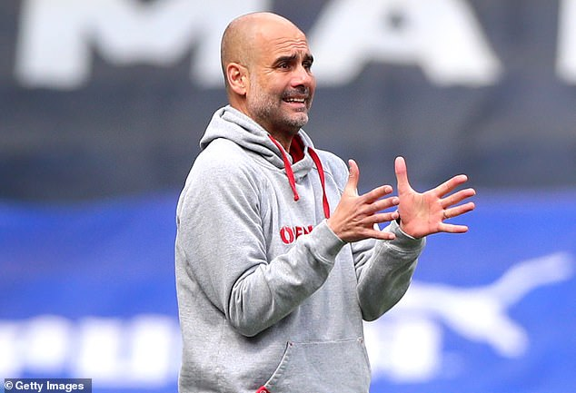 Manchester City boss Pep Guardiola insists all his focus is on his own team ahead of tomorrow