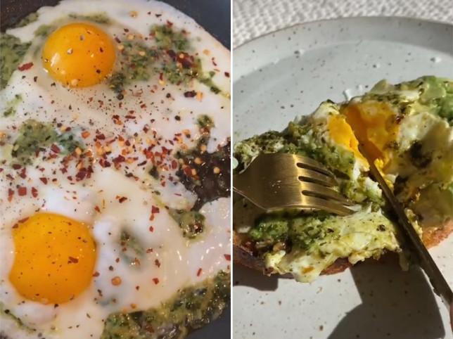 How to make pesto eggs, the latest breakfast recipe to storm TikTok