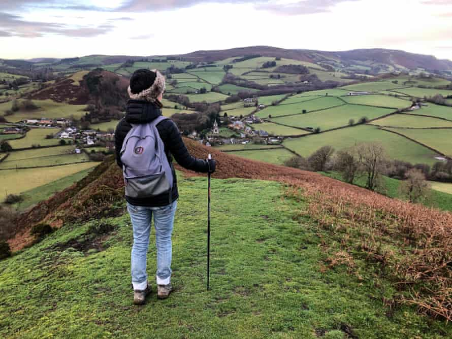 Writer Jane Dunford on her Nordic walking trip in Herefordshire, UK.