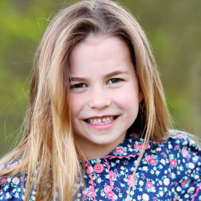 Royal Family Shares New Portrait of Princess Charlotte Ahead of Her 6th Birthday