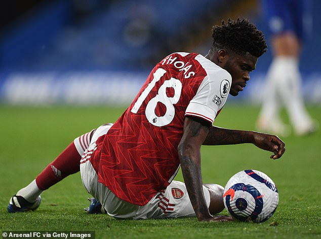 Thomas Partey hasn't lived up to expectations at Arsenal but has shown glimpses of his ability