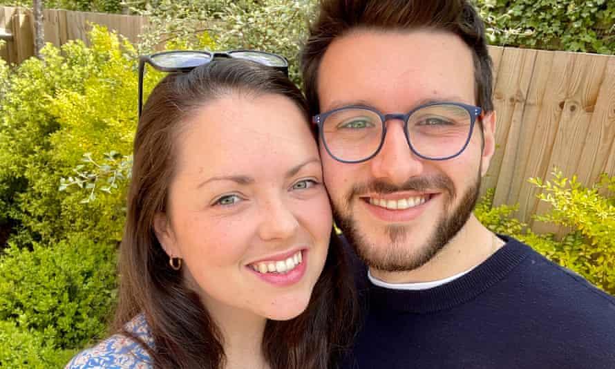 Samantha Scott and Chris Cerra.