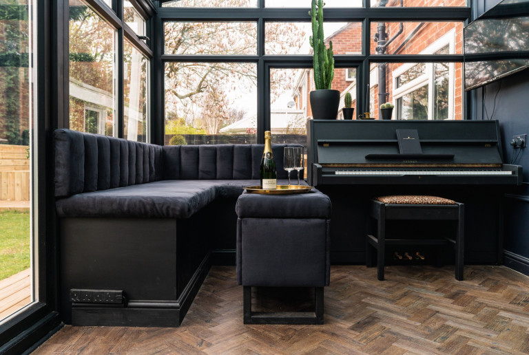 black bar conservatory