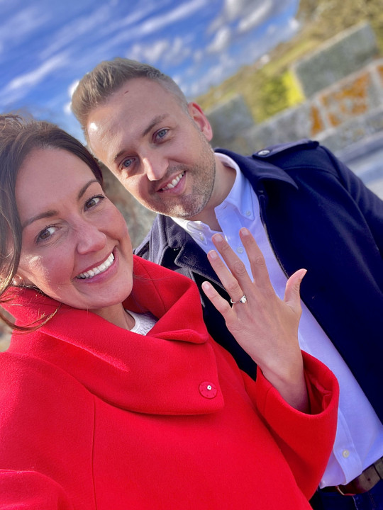 Since the surgery, her partner James Nelmes, 37, has proposed