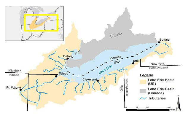 More than 10 million people per day rely on Lake Erie to provide clean drinking water
