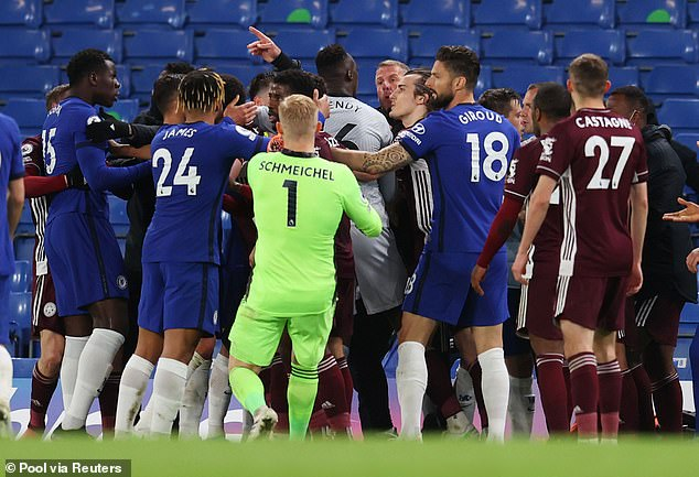 The clubs were subsequently charged with a breach of FA Rule E20.1 last month for the brawl
