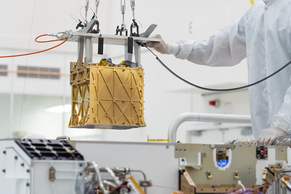 The American space agency proudly made the announcement on April 20, following news the rover used MOXIE, a small, gold box-shaped instrument that used electrolysis technology to generate oxygen