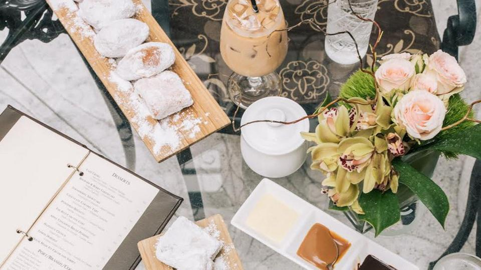 doughnuts on table