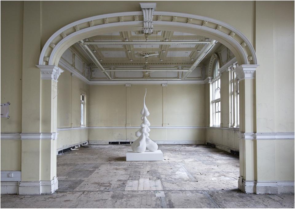 Charlotte Colbert artwork at Fulham Town Hall