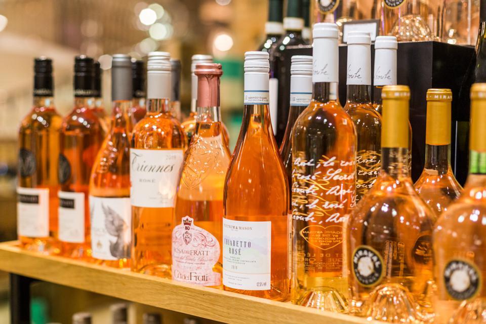 Fortnum & Mason rosé wine selection