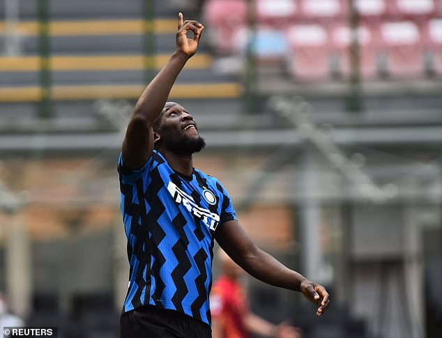 Romelu Lukaku admitted he had spoken to the new boss and committed his future to the club