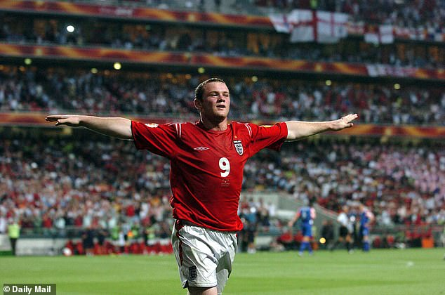 Euro 2004 saw the emergence of world class talent including Wayne Rooney for England