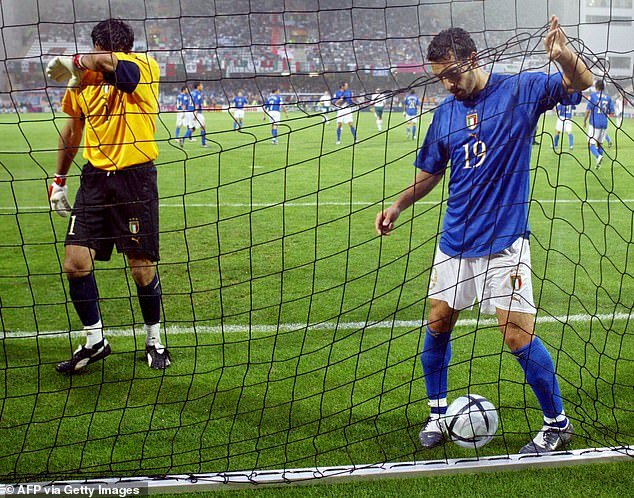 Italy disappointed and were one of the big names to depart Euro 2004 in the group stage