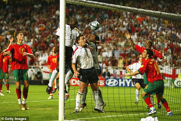 England had impressed upon reaching the last eight, and were unfortunate not to knock the hosts out after a last gasp goal from Sol Campbell (6) was disallowed for a John Terry (5) foul