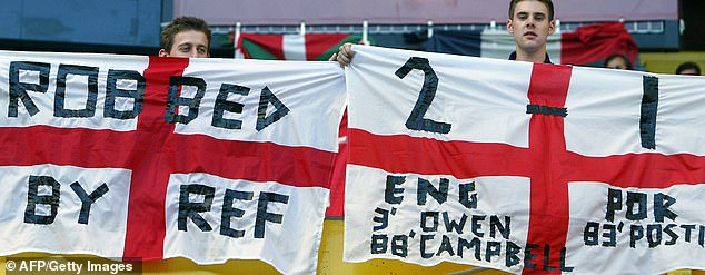 Supporters were enraged by the decision which ultimately cost England a semi-final place