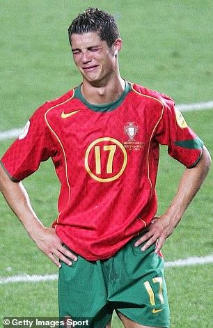 Greece's shock win over Portugal left Cristiano Ronaldo in tears following the final