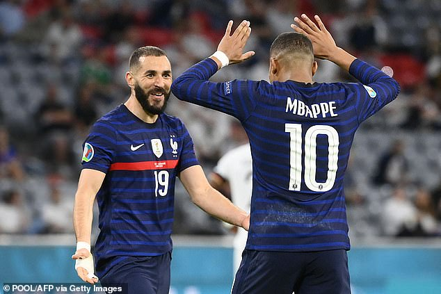 With Karim Benzema and Kylian Mbappe up front, France are scaring their opponents