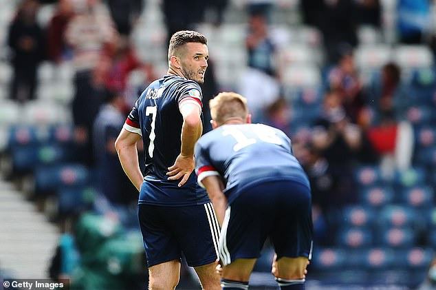 Scotland must find a way to manage their emotions when playing against England on Monday