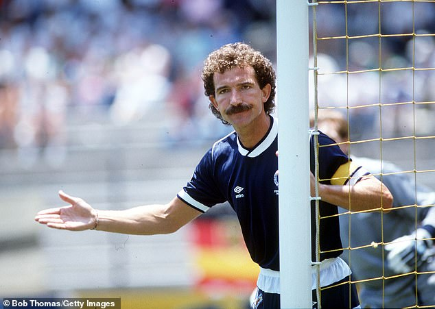 However, players can do what time likes ofGraeme Souness (above) used to do by going into andintimidate them - During Friday's clash it will have to be more subtle
