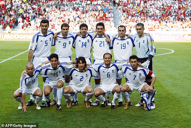 Greece headed to Euro 2004 in Portugal as rank outsiders to win the European Championship