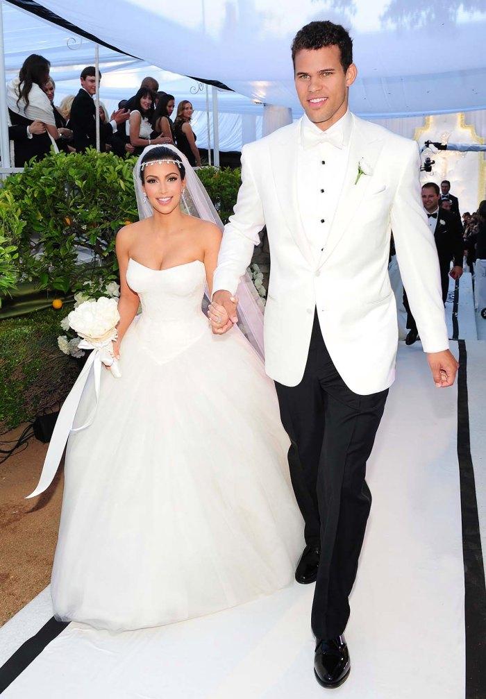 Kim Kardashian Worried If She Backed Out Kris Humphries Wedding Shed Look Like Runaway Bride