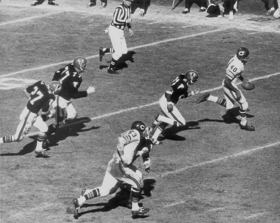 Chicago Bears vs Atlanta Falcons - December 17, 1967