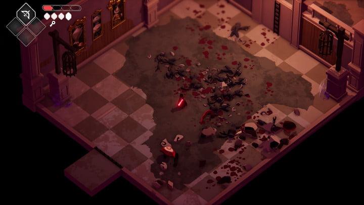 Death's Door Urn Witch Mansion Room.