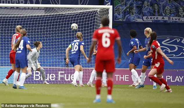 Sarah Zadrazil's stunning volley against Chelsea in the Champions League semis makes the list