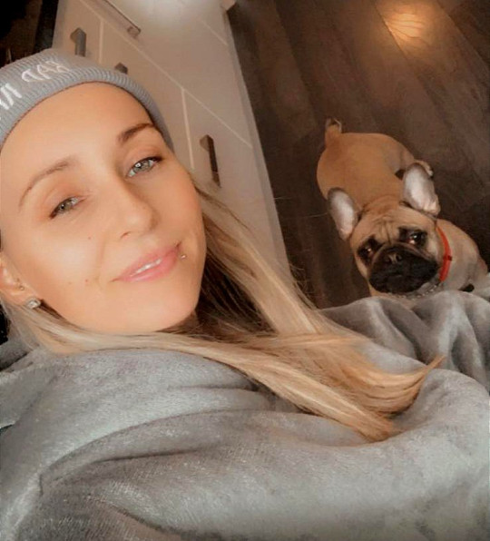 Dog owner's warning after French bulldog dies after short walk in the sun Picture: Courtesy of Laura Kyle pictures sent to metro.co.uk