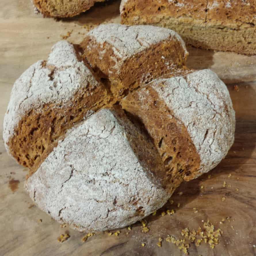 Ingrid Brisacher's soda bread