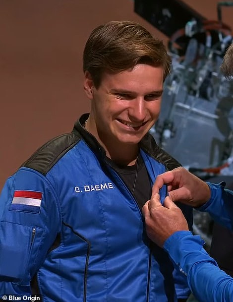Oliver Daemen, 18, is the youngest to have gone to space