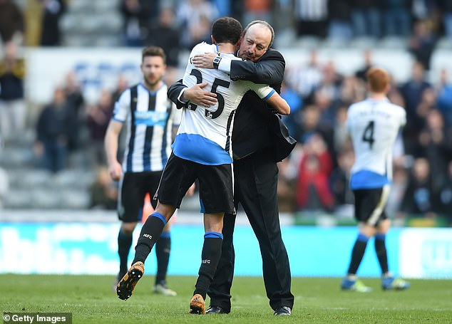Townsend and Rafa Benitez have worked together before
