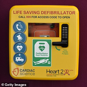 Fast use of defibrillators can increase survival rates by up to 70 per cent