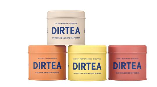 DirTea mushroom tea