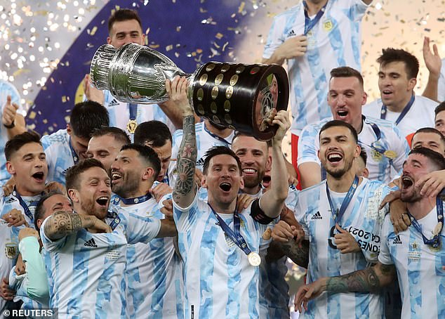 Lionel Messi is the firm favourite after leading Argentina to Copa America glory this summer