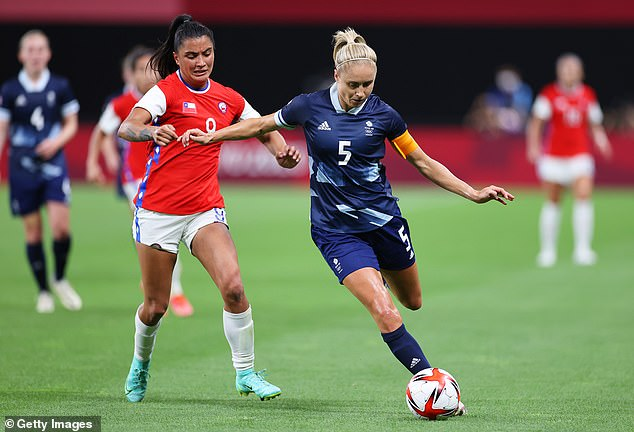 Team GB were captained by Manchester City star Steph Houghton in their opening clash