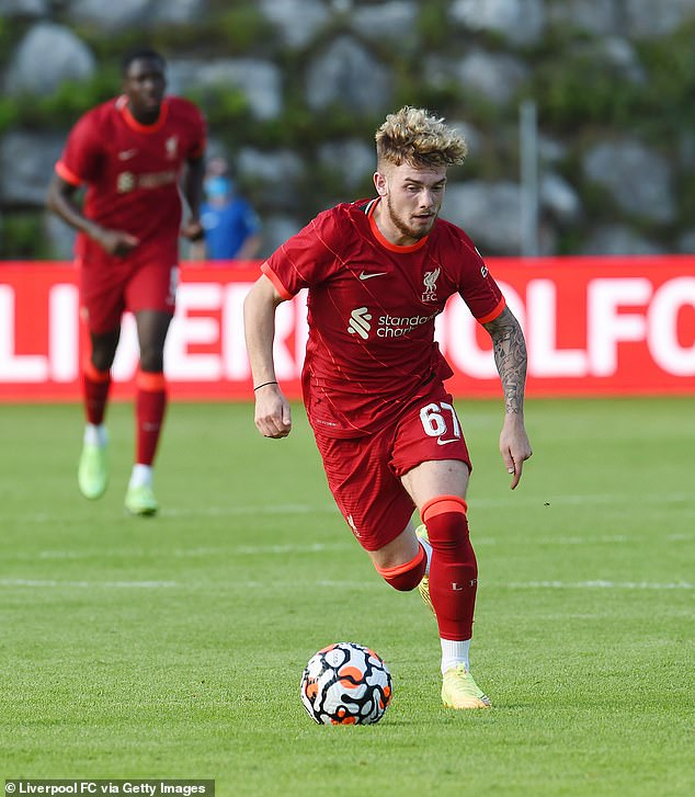 Harvey Elliott has also been praised by Jurgen Klopp for playing in a more central position