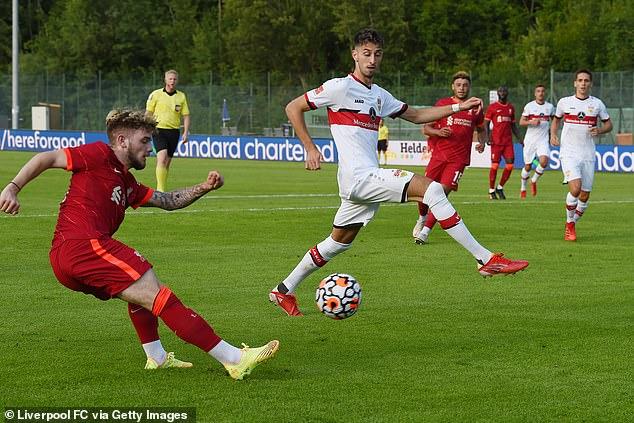 Elliott is bidding to impress after a successful stint on loan with Blackburn Rovers last season